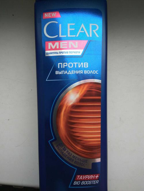 фото Шампунь Clear Vita ABE против перхоти для мужчин против выпадения волос, 400мл.