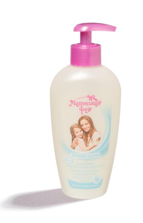 """Косметическое крем- мыло для лица и рук маленькая фея """"для мамы и дочки"""""""