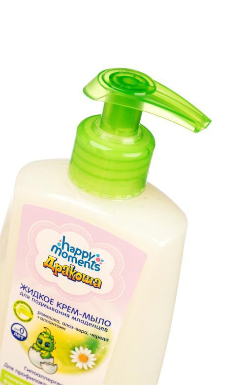 """цена Жидкое крем -мыло для подмывания младенцев """"дракоша"""""""