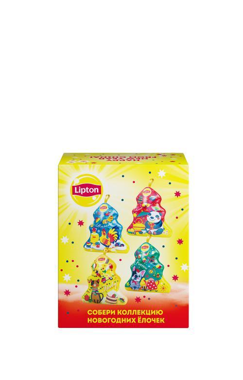 """фото13 Набор lipton """"новогодняя ёлочка"""" с листовым чаем"""