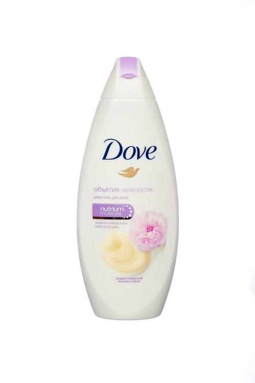 цена Dove Крем-гель для душа Сливочная ваниль и Пион, 250 мл