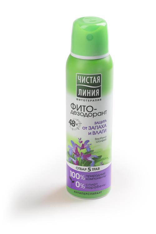 отзыв Антиперспирант аэрозоль фитодезодорант чистая линия защита от запаха и влаги