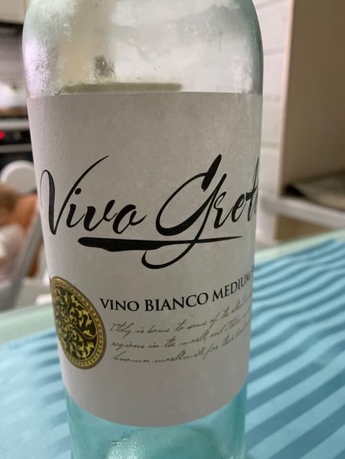 Viva Greta vino bianco medium sweet