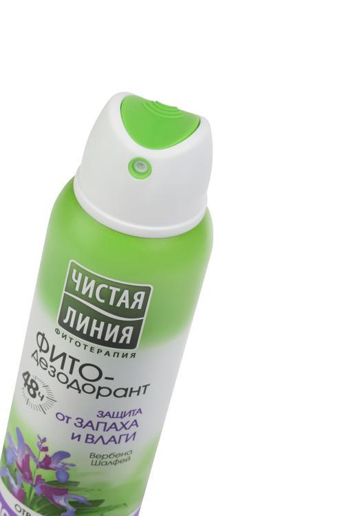 описание Антиперспирант аэрозоль фитодезодорант чистая линия защита от запаха и влаги