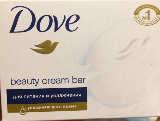 фото6 Крем-мыло DOVE красота и уход, 135г