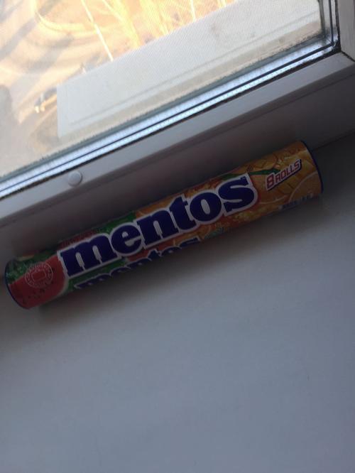 отзыв Mentos watermelon, mango-orange (Travellers exclusive) 8 Пачек
