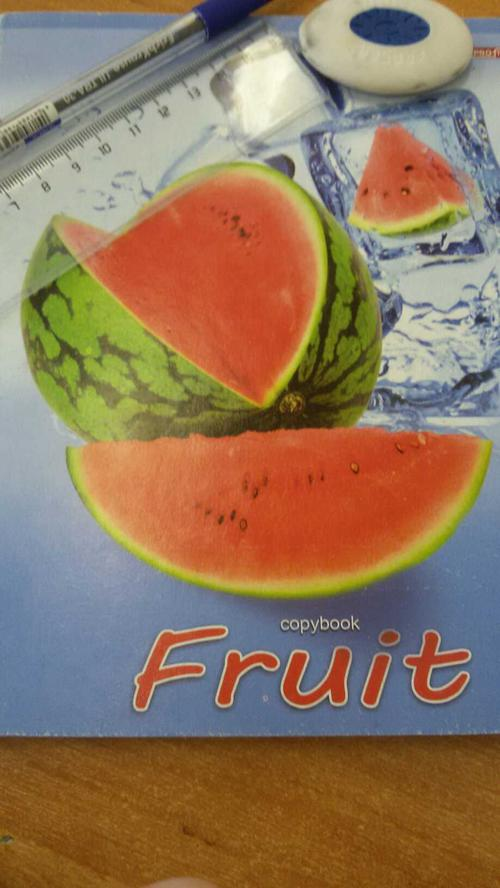 Тетрадь 48лист A5 клет проф-пресс фруктовое настроение мелов. карт. 48-3704