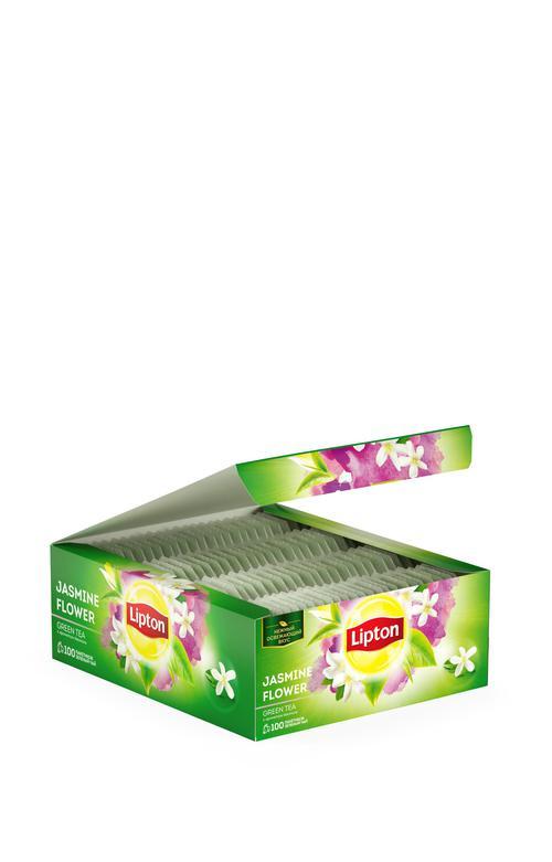 отзыв Lipton зеленый чай в пакетиках Jasmine Flower Team Tea 100 шт