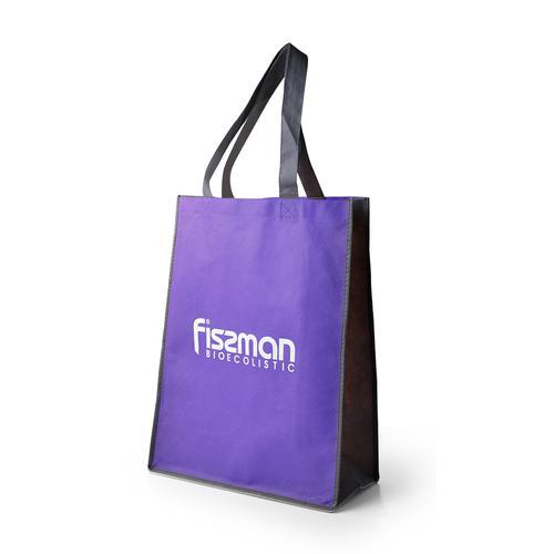 Промо-сумка 35x15x45см с логотипом Фиолетовая