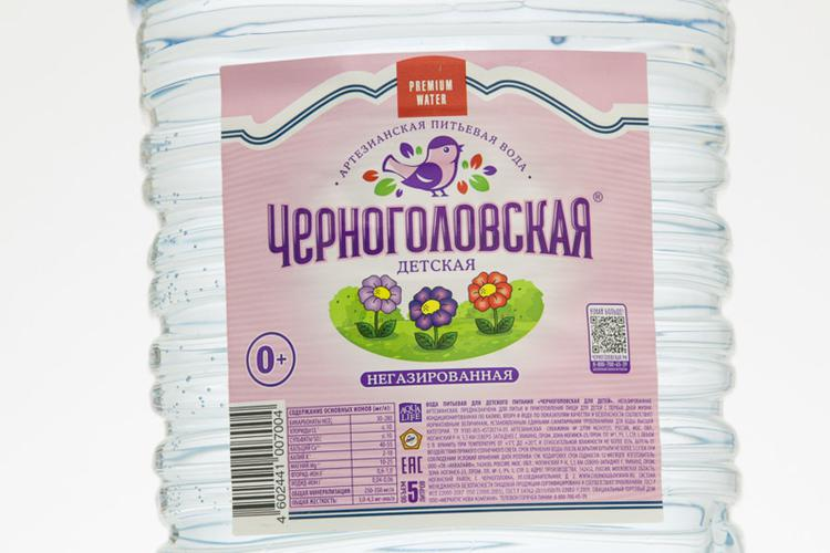 """Вода """"Черноголовская детская"""""""