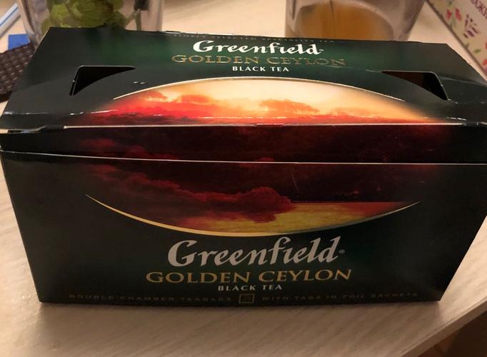 "цена Чай черный ""Гринфилд Голден Цейлон"" (Greenfield Golden Ceylon) байховый, 25пак."