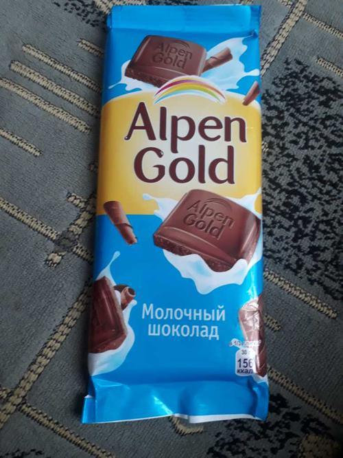 фото18 Шоколад Alpen Gold молочный, 90гр.