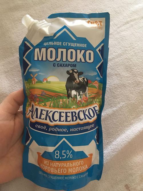 """отзыв Молоко сгущенное """"алексеевское"""" цельное с сахаром 8,5%"""