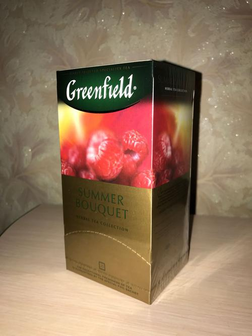 фото6 Напиток чайный Гринфилд Самма Букет в пакетиках