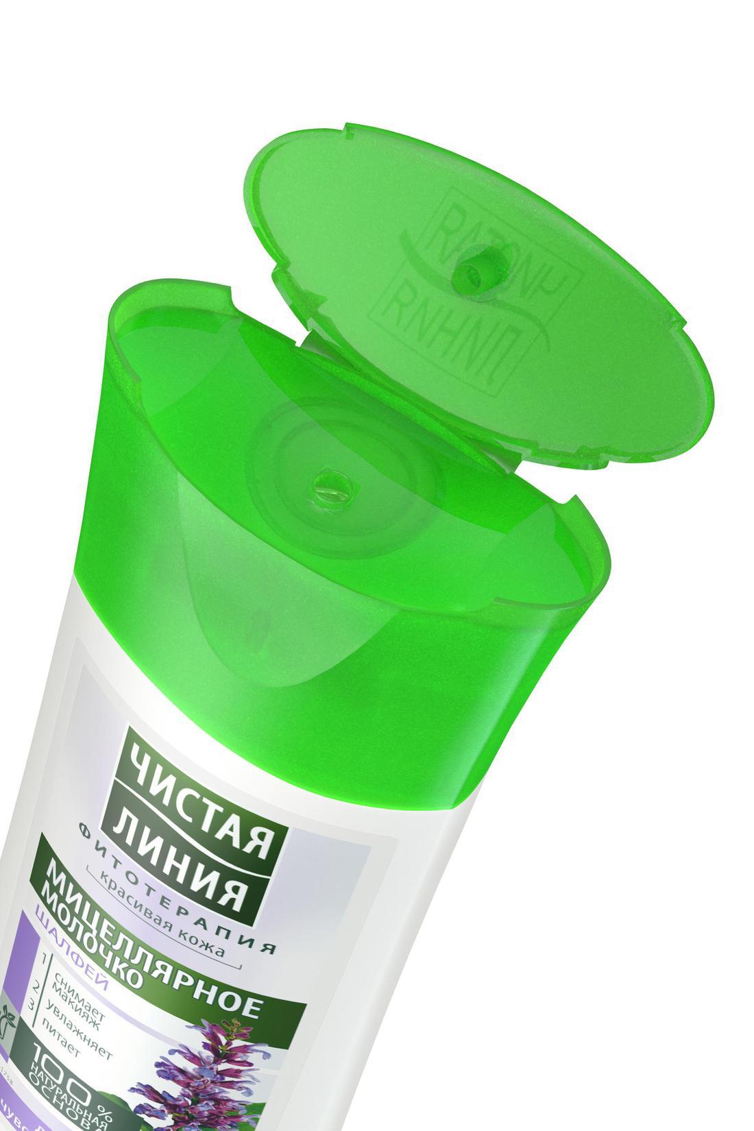 Чистая Линия Мицеллярное молочко для снятия макияжа для сухой и чувствительной кожи 100 мл