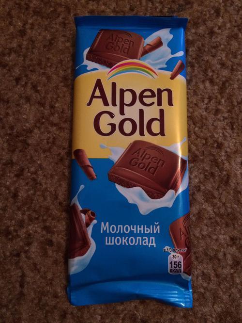 фото26 Шоколад Alpen Gold молочный, 90гр.
