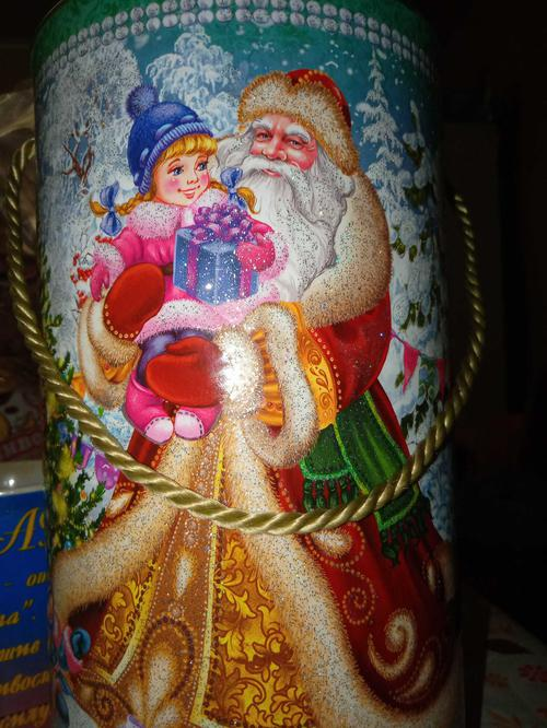 цена Сладкий новогодний подарок «Новогодний экспресс»
