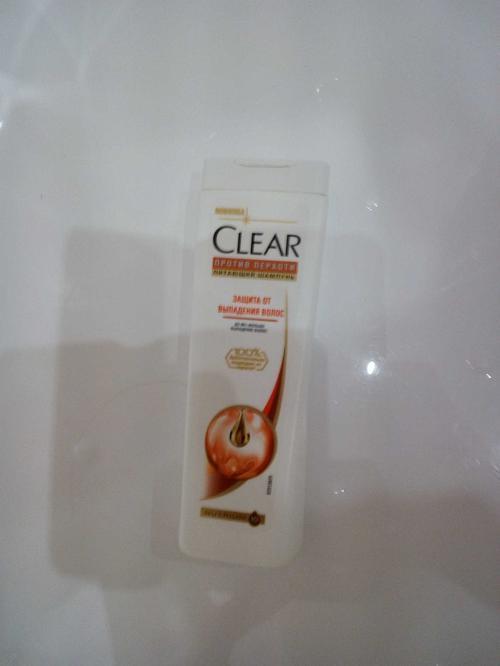 фото Шампунь Clear vita ABE против перхоти Защита от выпадения волос, 200 мл.