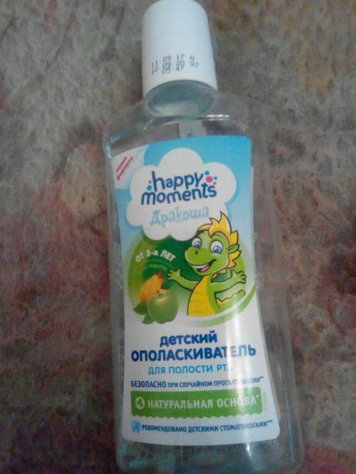 фото3 Детский ополаскиватель для полости рта дракоша (тутти-фрутти)