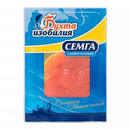 Семга, филе-ломтики без кожи слабосоленые