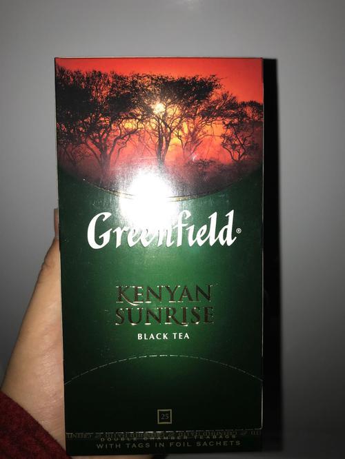 цена Чай черный байховый Гринфилд Кениан Санрайз в пакетиках