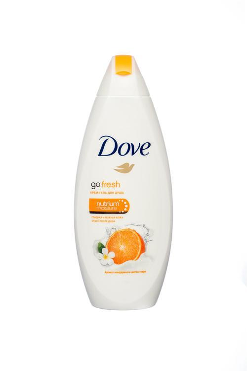 описание Dove крем-гель для душа изысканное преображение 12х250мл