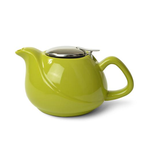 Чайник заварочный 750мл с ситечком, цвет Светло-зеленый (керамика)