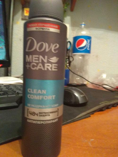 """фото1 Антиперспирант аэрозоль """"Dove men+care"""" Экстразащита+уход, эффективно защищает 48ч, не раздражает кожу, """"Unilever"""", 150мл"""