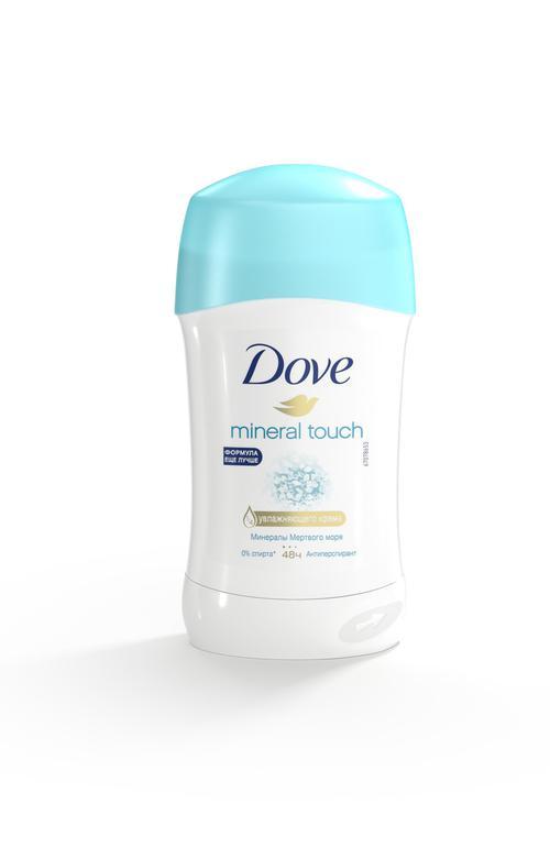 описание Дезодорант-стик Dove Natural Touch Прикосновение Природы, 40 мл.