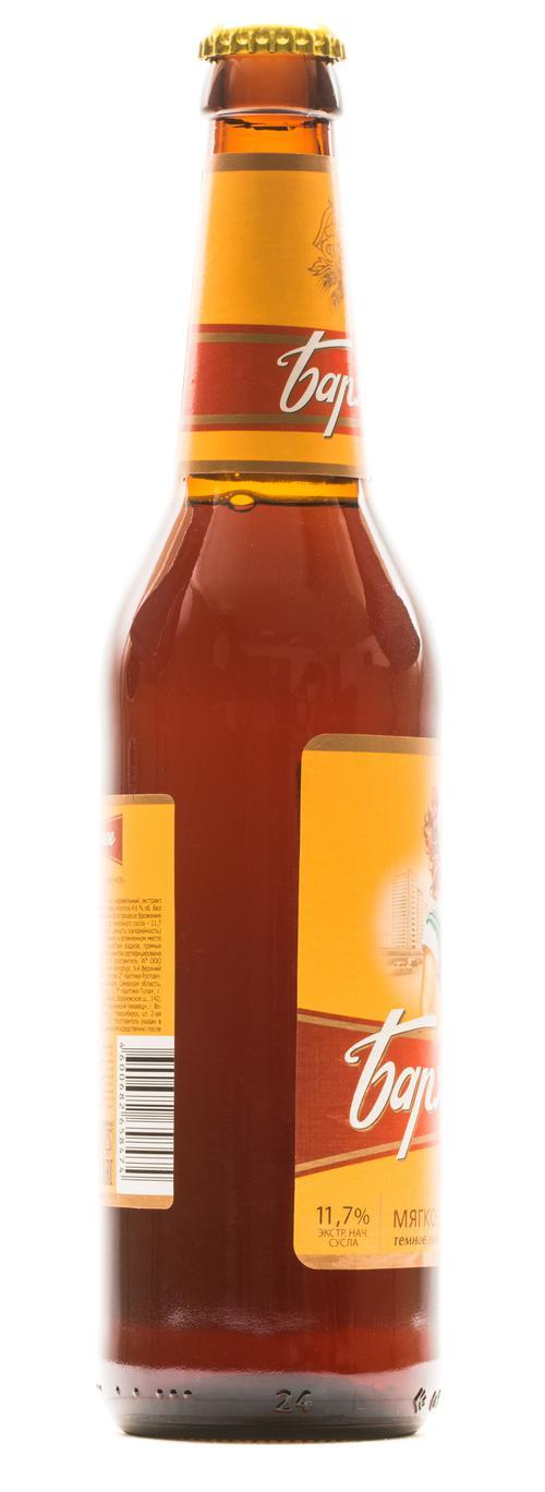 фото Пиво темное Бархатное фирменное