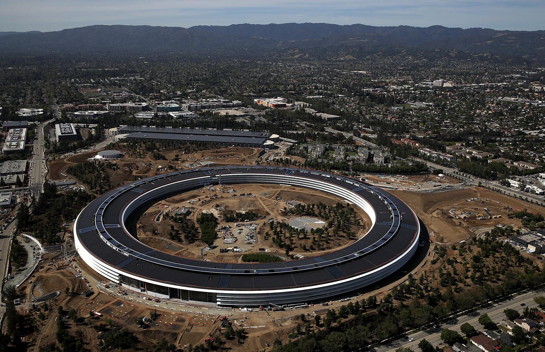 Последнее детище Стива Джобса: новый офис Apple