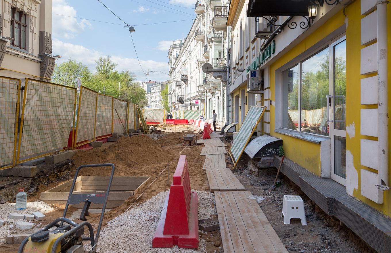 Жертвы кладоискателей: как реконструкция улиц осложнила жизнь московскому бизнесу