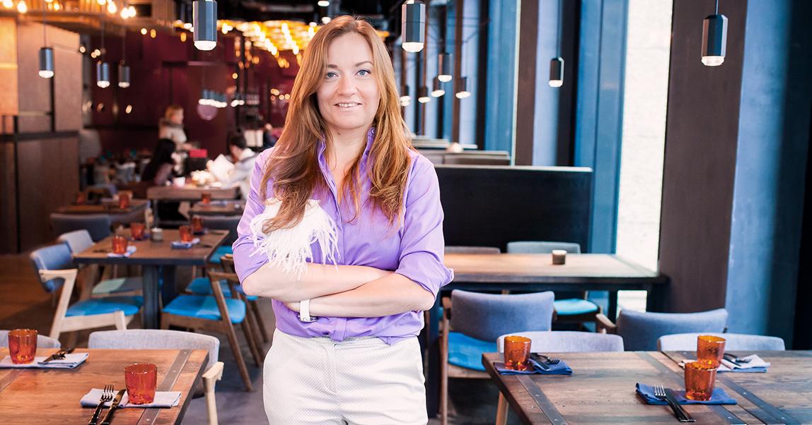 Ресторатор Ирина Ходзинская — о важности бесед с клиентами,  роли интерьера и ресторанных трендах