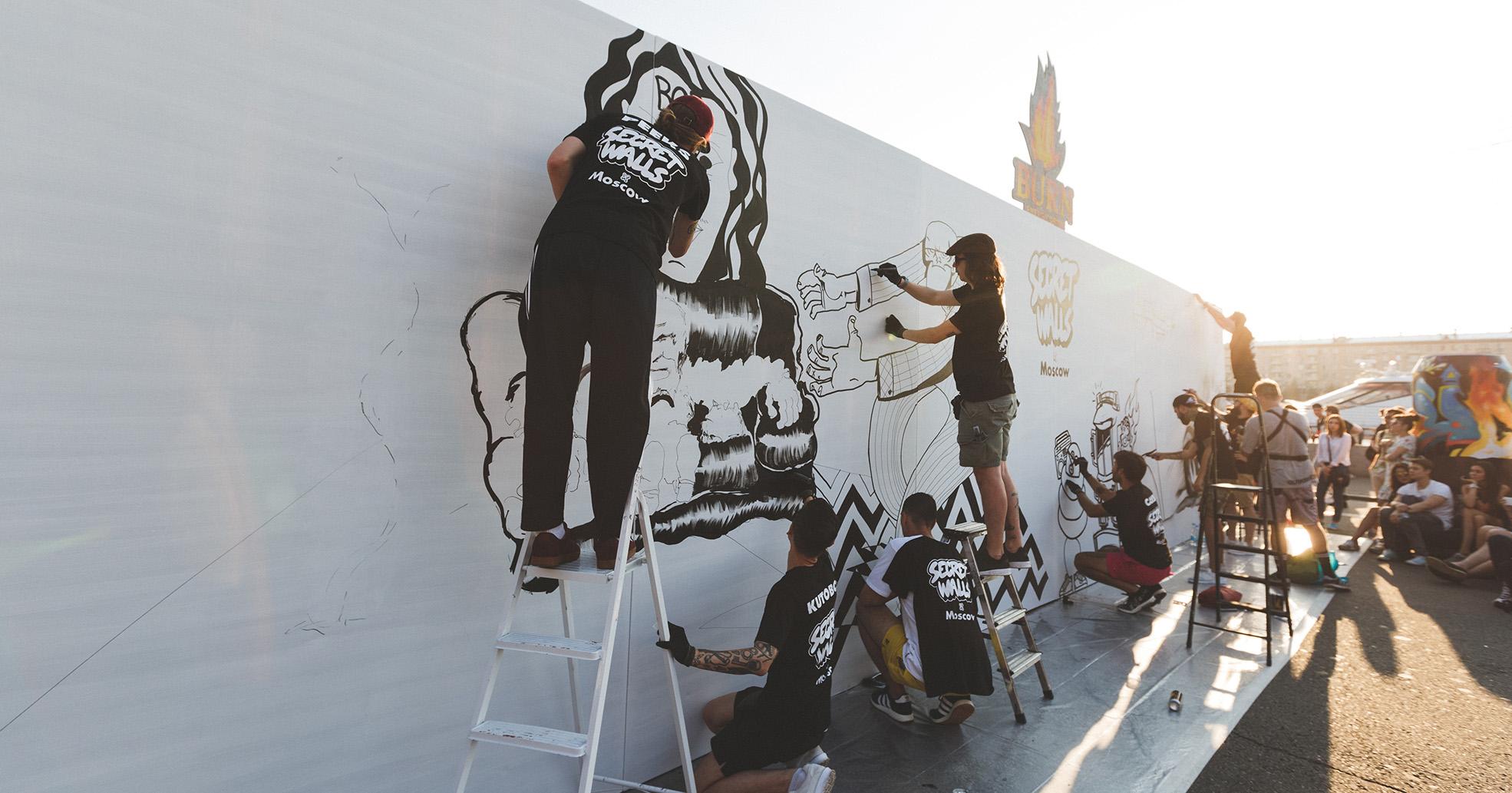 Faces&Laces: Как граффити-художники сделали городское событие с бесплатным входом и оборотом в 30 млн рублей