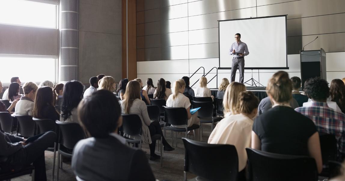 Зачем они это делают: участвуют в отраслевых конференциях