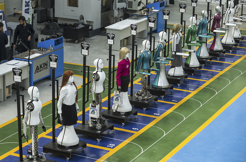 Роботы на работе: профессии, которых не станет через несколько лет