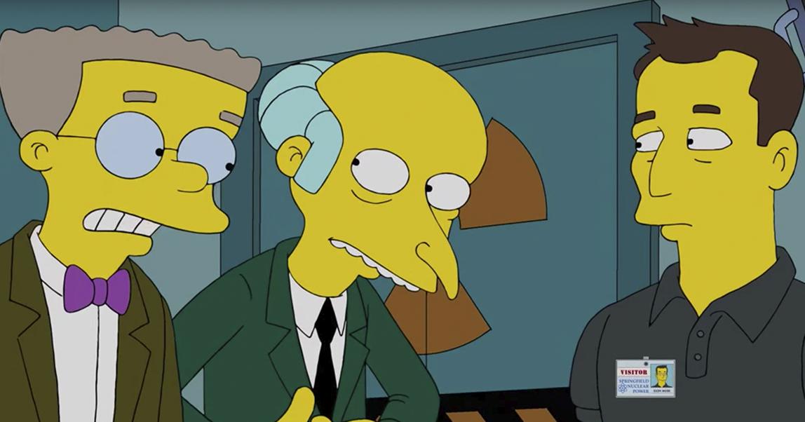 Уже было в Симпсонах: все роли Илона Маска в популярной культуре