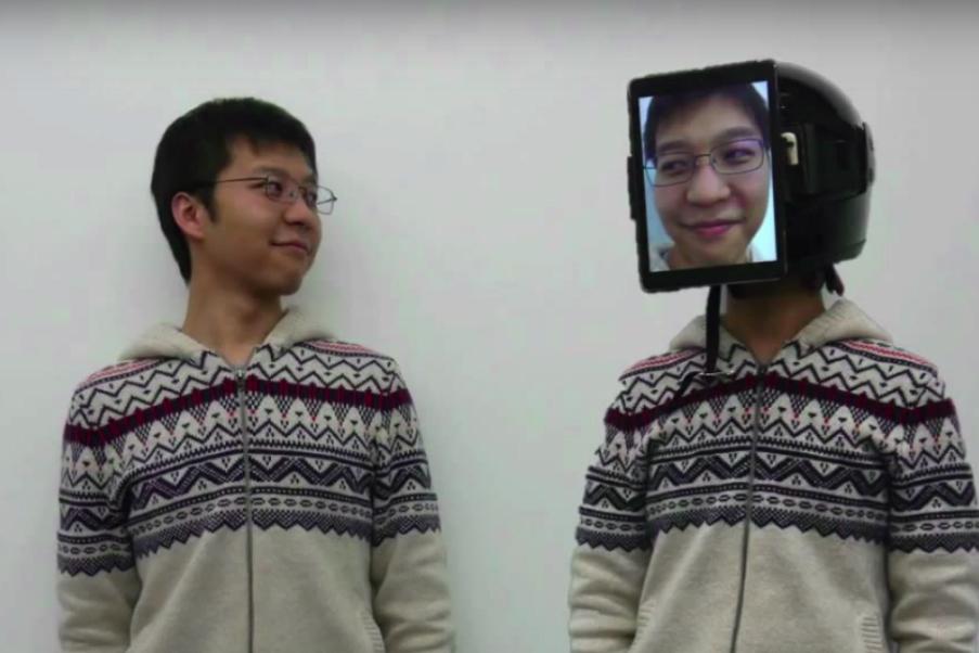 Inc.Russia  » Японский стартап представил «человеческий Uber». Клиента заменяет сотрудник с планшетом на лице