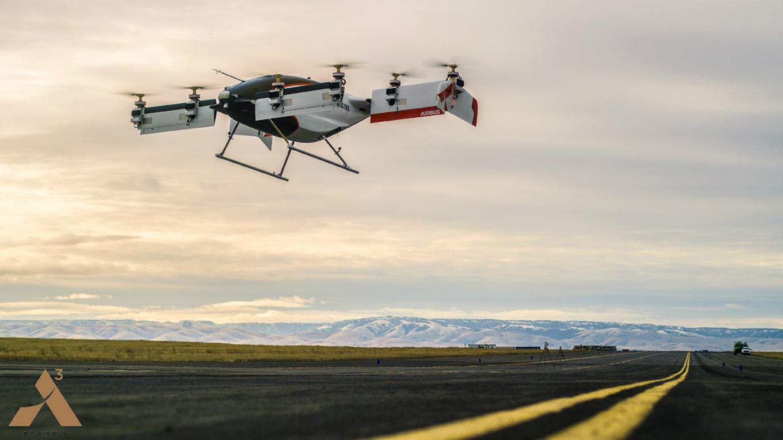 Inc.Russia  » Airbus впервые испытал беспилотное аэротакси