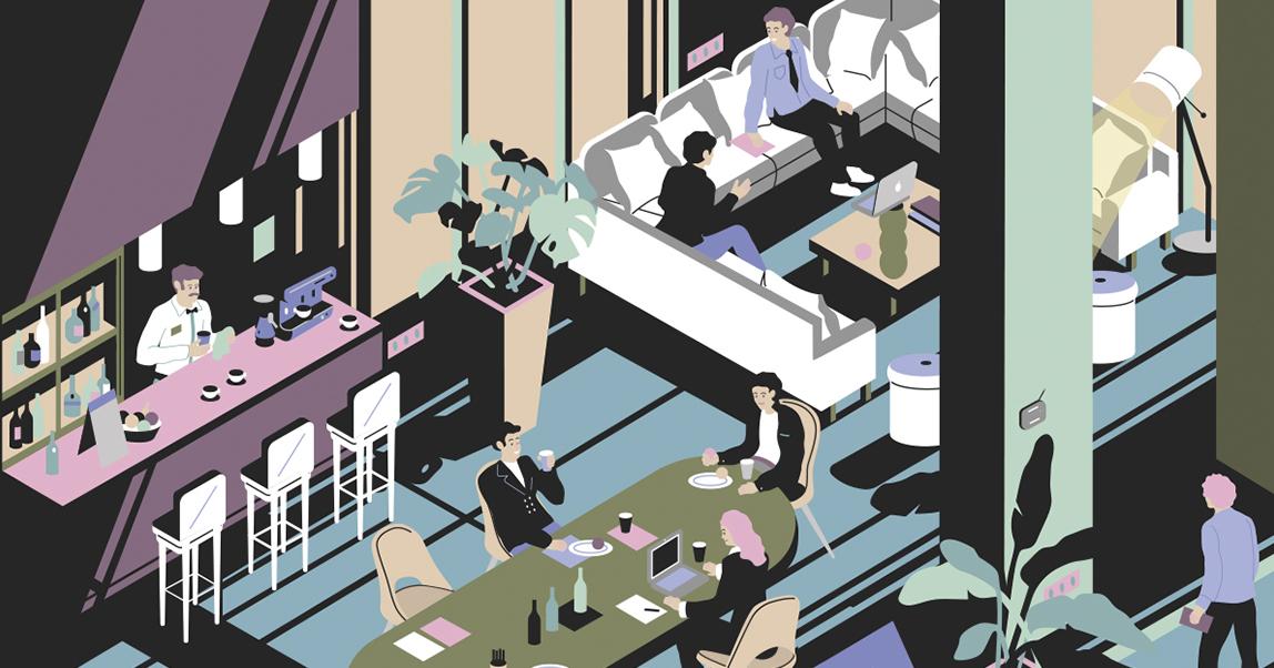 Поймать тренд: зачем отелю бизнес-лобби и как на нем заработать