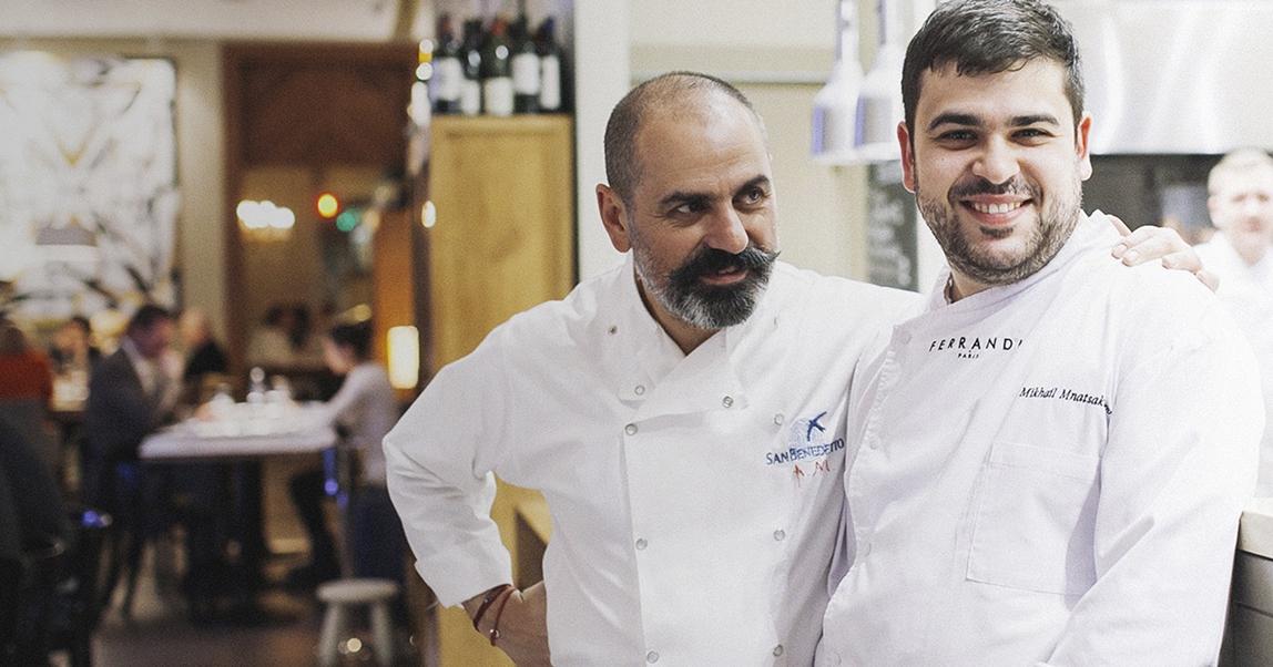 Арам и Михаил Мнацакановы: как создатель «Пробки» вместе с сыном кормит жителей Берлина итальянской едой