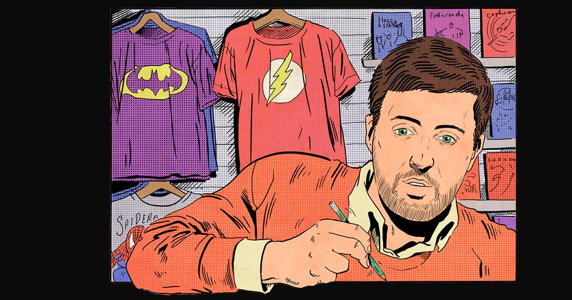 654 Company: как превратить детские фантазии в бизнес на комиксах, все потерять, перепридумать и запустить магазин для гиков