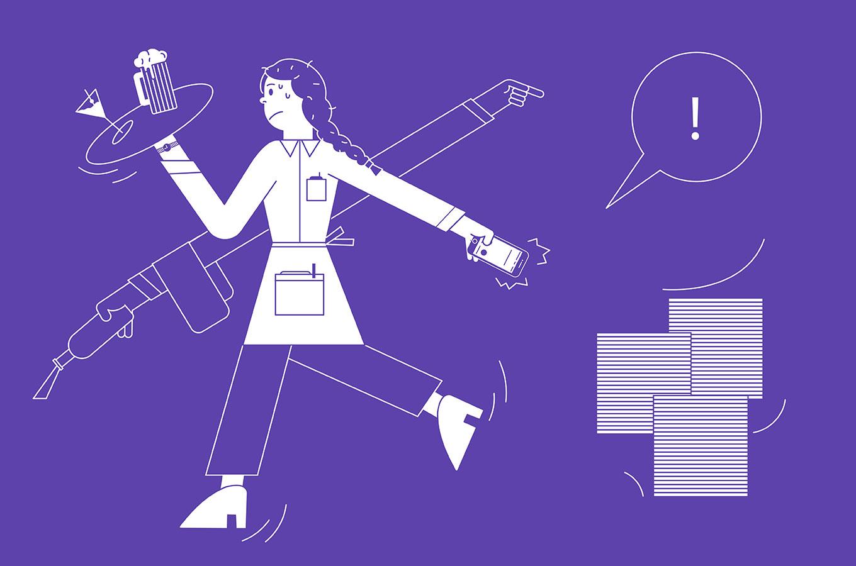 Дневник предпринимателя: зачем владельцу бара работать «вполе» наногах (ипричем тутеда руками)