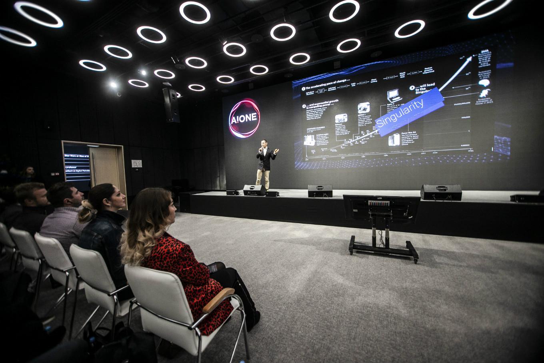 В Москве прошла конференция по искусственному интеллекту A!ONE