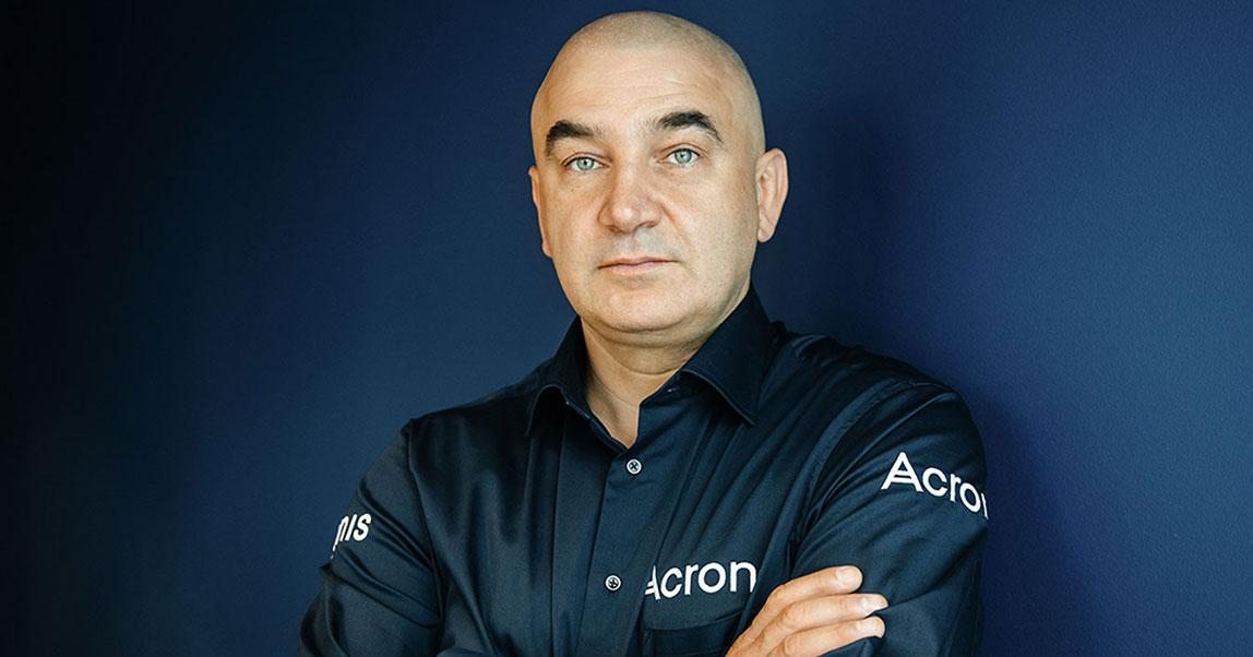 Сергей Белоусов, Acronis — о«судномдне», этике цифрового мираипсихотерапии для предпринимателей