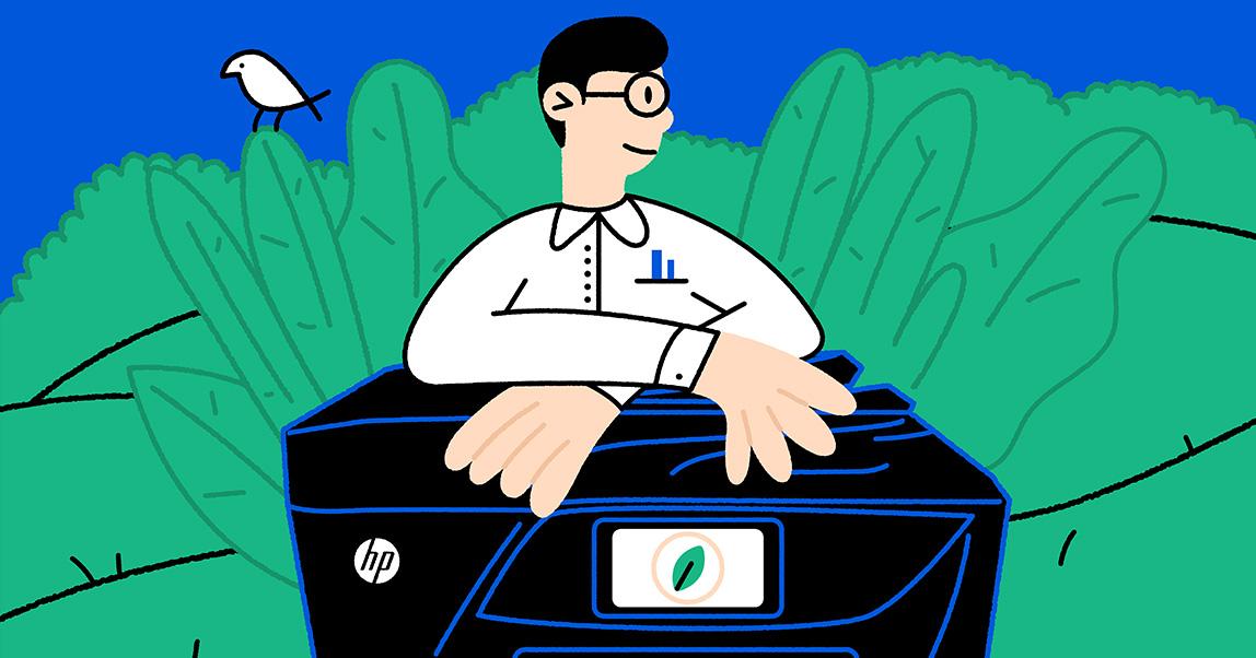 Объясняем на пальцах: почему бизнесу важно быть экологичным и какHP помогает ему вэтом