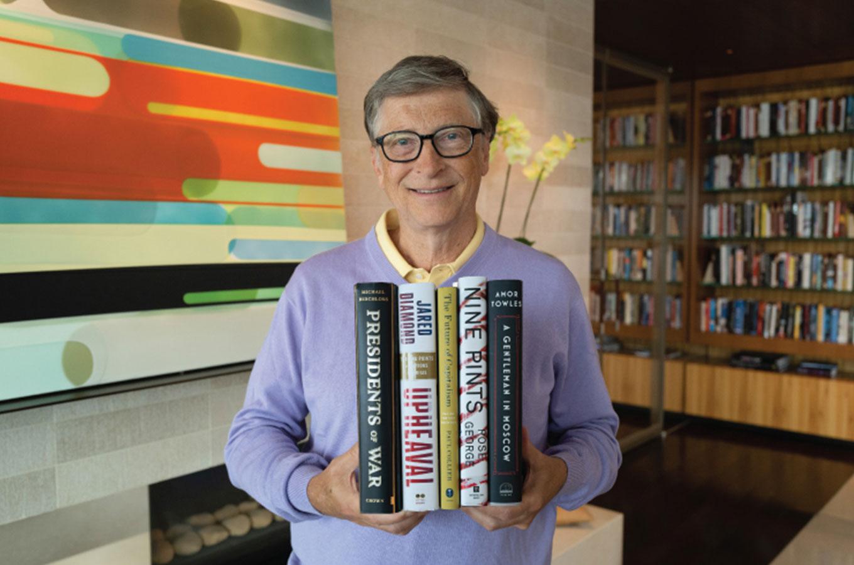 Кризис капитализма, большевики и дорогая кровь: пять книг от Билла Гейтса