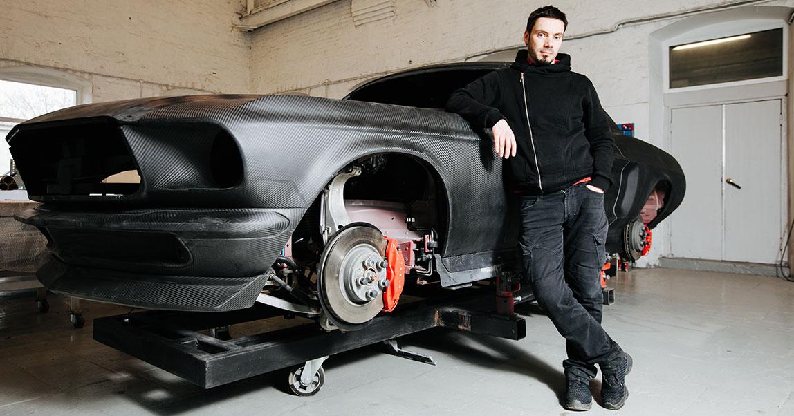 Как засунуть Tesla в Mustang 67 года и выйти на оборот в 100 млн руб. в год. История «КБ Архипов»