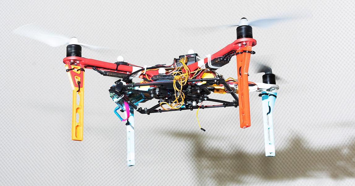 Положить дрон на полку: какдоверить инвентаризацию роботам ипревратить диплом вбизнес-проект