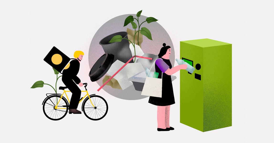 Как компании, которые вас кормят, спасают планету от пластика